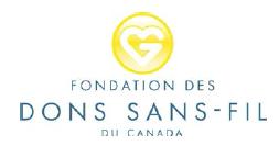 Fondation des dons sans fil du Canada